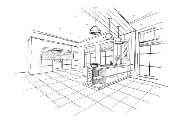 Matériaux rénovation architecte cuisine